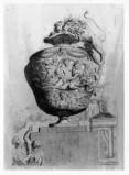 Damery J. (1657), Vaso con tritoni e nereidi