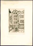 Baldessari R. M. secondo quarto sec. XX, Vecchie case di Zurigo