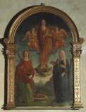 Bott. veronese sec. XV, Cornice della pala di Liberale da Verona