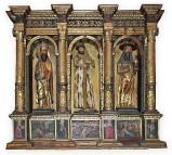 Liberale da Verona (1510), Ancona con Gesù Cristo portacroce e due santi
